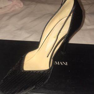 Worn once Emporio Armani heels